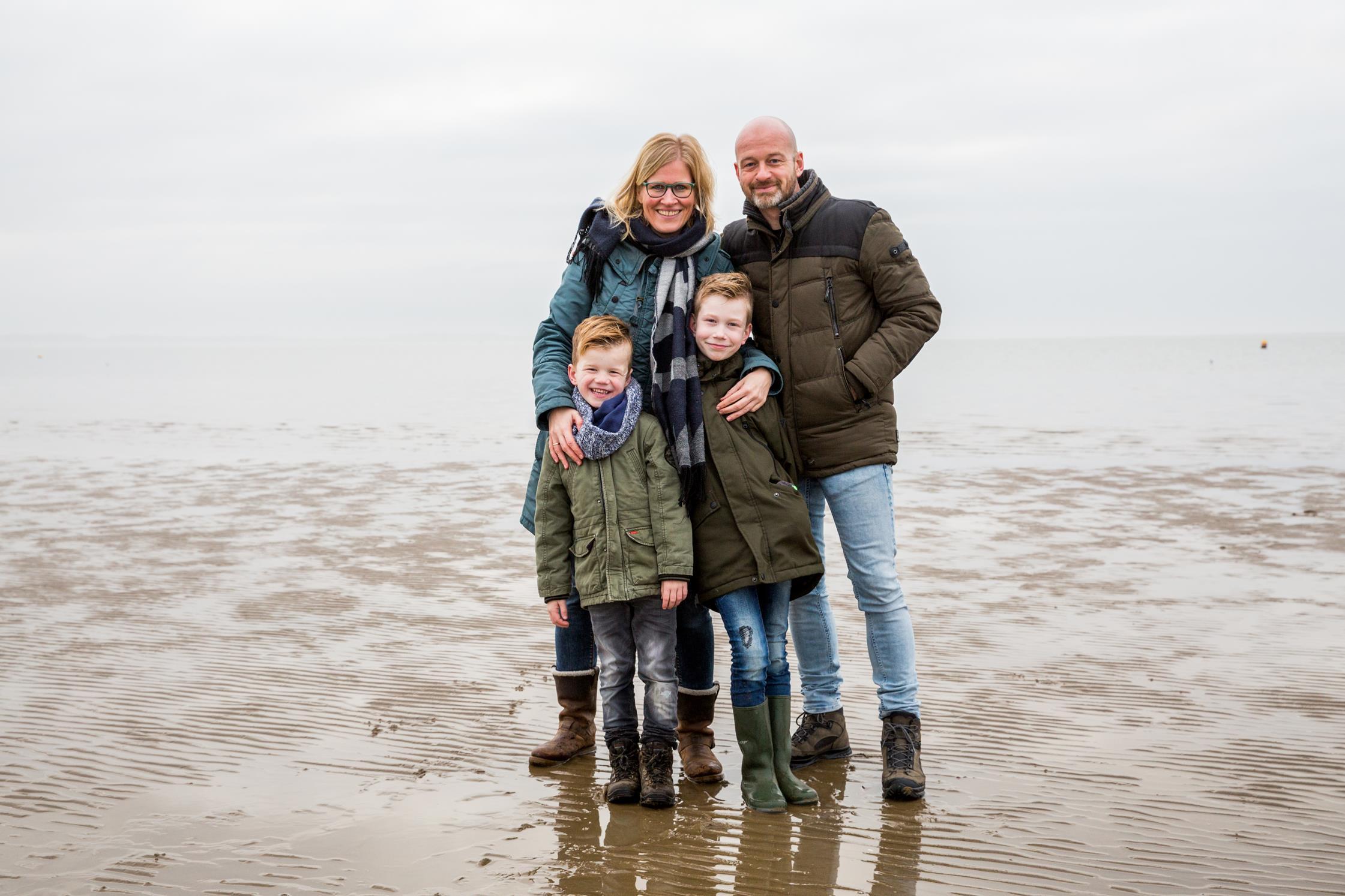 Ondernemersfotograaf gezin